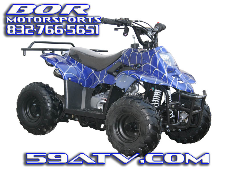 110cc coolster kids hawk atv small four wheeler youth atvs for children cheap kids atvs - Quad spiderman ...