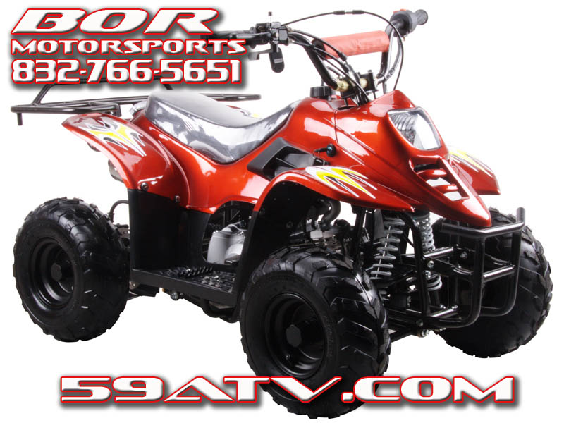 110cc coolster kids hawk atv small four wheeler youth atvs for ...