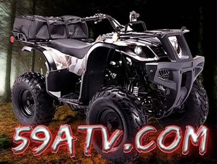 Big 150cc Coolster Hunter ATV Utility Atvs